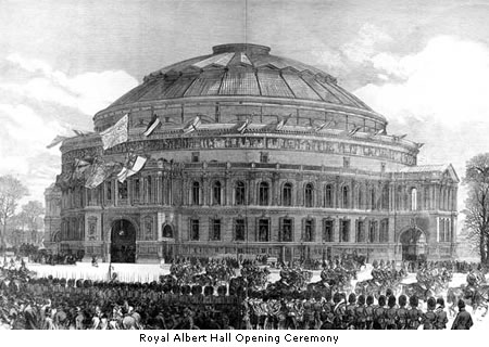 Opening of the Royal Albert Hall